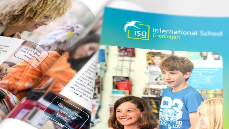 brochure ontwerp ISG