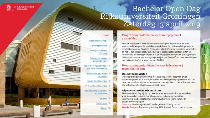 digitale brochure interactieve inhoudsopgave uit