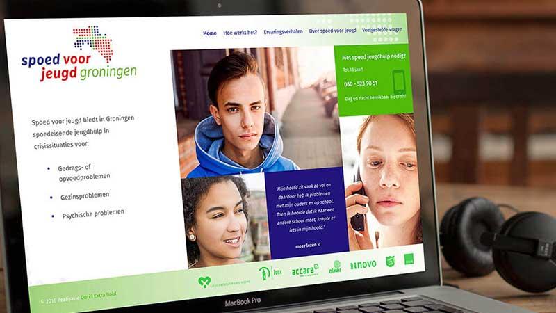 responsive website ontwerp op ipad